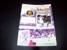 Dumbarton v Forfar Athletic, 2002/03